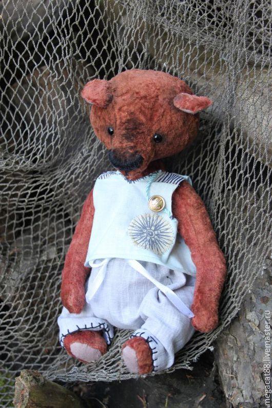 Мишки Тедди ручной работы. Ярмарка Мастеров - ручная работа. Купить Мишка тедди Баклан. Handmade. Коричневый, мишка тедди