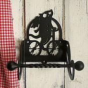 Для дома и интерьера ручной работы. Ярмарка Мастеров - ручная работа держатель для туалетной бумаги Велокот. Handmade.