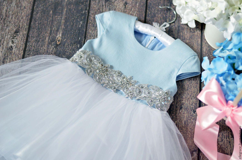 Как украсить платье фатином