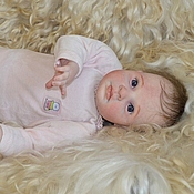Куклы и игрушки handmade. Livemaster - original item Reborn doll Helena. Handmade.
