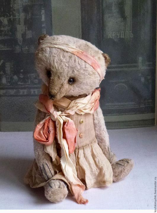 Мишки Тедди ручной работы. Ярмарка Мастеров - ручная работа. Купить Мишка Тедди. Флёр. 16см сидя.. Handmade. Комбинированный