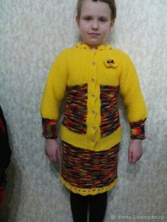 Комплект юбка и кофта яркого цвета нарядная, Комплекты одежды, Шахты, Фото №1