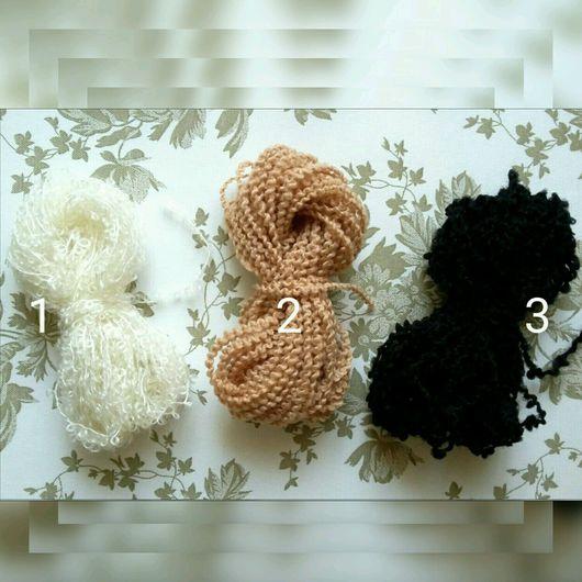 Куклы и игрушки ручной работы. Ярмарка Мастеров - ручная работа. Купить Волосы для кукол нитки букле для Тильды в ассортименте. Handmade.