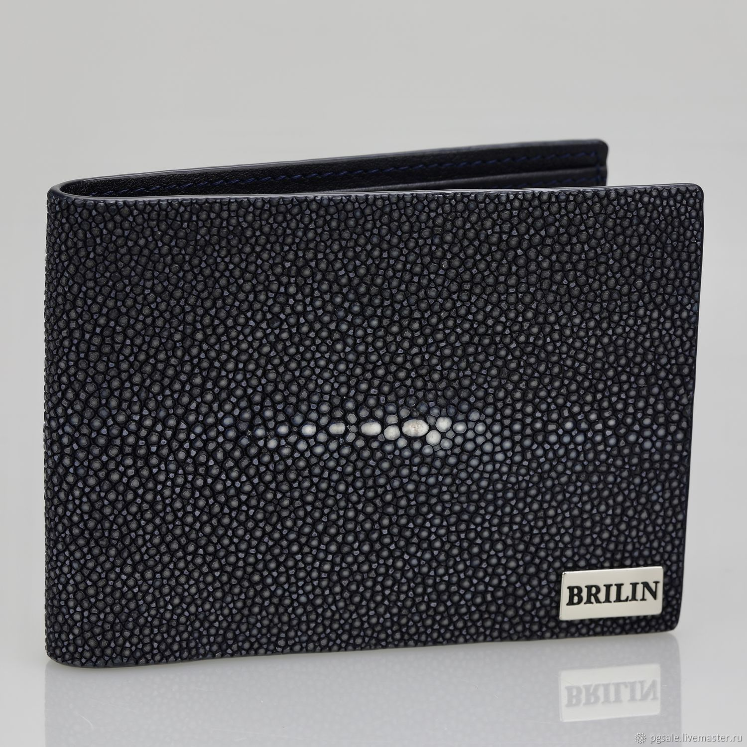 Purse made of polished Stingray premium, Wallets, St. Petersburg,  Фото №1
