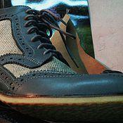 Обувь ручной работы. Ярмарка Мастеров - ручная работа броги. Handmade.