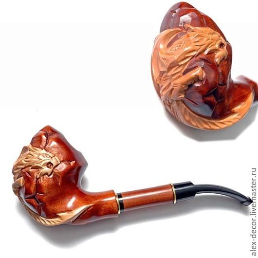 Подарки для мужчин, ручной работы. Ярмарка Мастеров - ручная работа. Купить Курительная трубка Estupedo-E11070-19. Handmade. Трубка