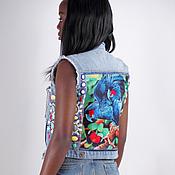 Одежда handmade. Livemaster - original item Denim vest