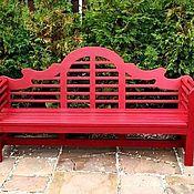 Для дома и интерьера handmade. Livemaster - original item GARDEN BENCH COLOR IN THE ENGLISH STYLE. Handmade.