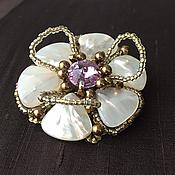 Украшения handmade. Livemaster - original item Brooch-flower 2. Handmade.