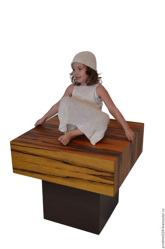 Мебель ручной работы. Ярмарка Мастеров - ручная работа. Купить Стол 1. Handmade. Коричневый, стол, черный офрам