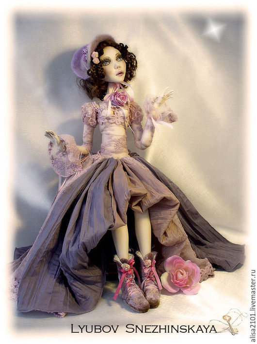 Коллекционные куклы ручной работы. Ярмарка Мастеров - ручная работа. Купить Аврора. Handmade. Шарнирная кукла, la doll