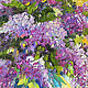 'Fragrance of Morning' - oil painting with a bouquet of lilac. Pictures. Multicolor Gallery. My Livemaster. Фото №6
