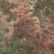 Материалы для творчества ручной работы. Ярмарка Мастеров - ручная работа Канва Zweigart Dublin, лен, ручное окрашивание. Handmade.