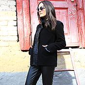 Одежда ручной работы. Ярмарка Мастеров - ручная работа Куртка Black Incognito. Handmade.