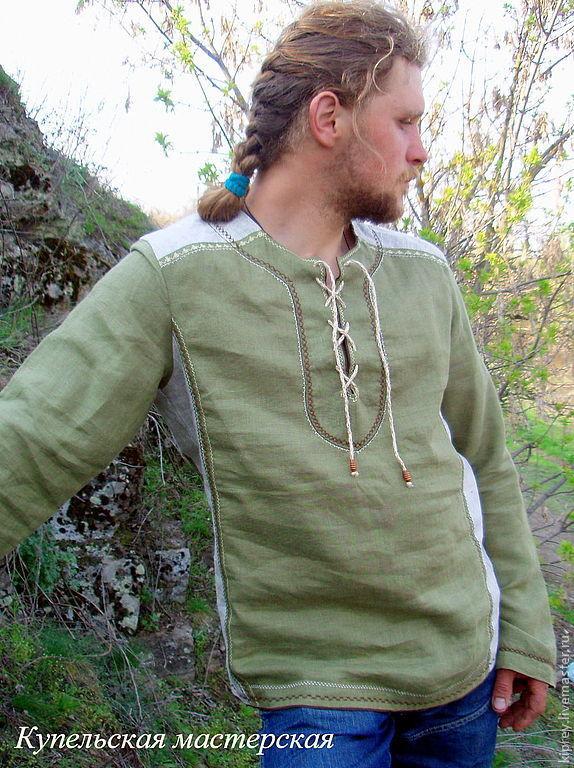 """Рубаха """"Хороводная"""", Рубашки мужские, Россошь,  Фото №1"""