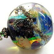 Украшения handmade. Livemaster - original item The Second universe pendant lampwork. Handmade.