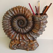 Карандашницы ручной работы. Ярмарка Мастеров - ручная работа Карандашница стимпанк скульптура. Handmade.