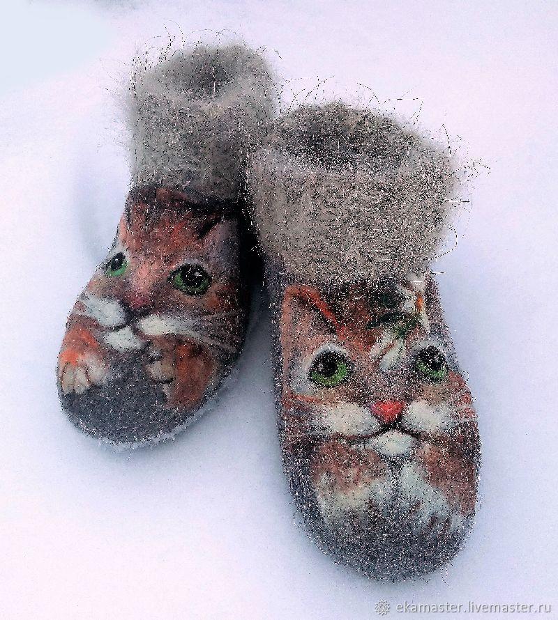 Boots shortened Tisha and Tosha, Felt boots, Ekaterinburg,  Фото №1