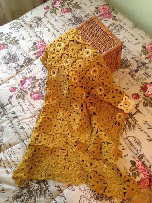 """Текстиль, ковры ручной работы. Ярмарка Мастеров - ручная работа. Купить Покрывало на кухонный диванчик """"Цветочная плитка"""" (авторская работа). Handmade."""