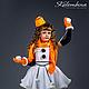 Карнавальные костюмы ручной работы. Ярмарка Мастеров - ручная работа. Купить Костюм снеговика. Handmade. Рыжий, новогодний костюм