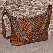 Сумки и аксессуары handmade. Livemaster - original item Model 156 Classic bag: Leather bag. Handmade.