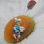 """Куклы и пупсы ручной работы. Ярмарка Мастеров - ручная работа Малыш. """"Сладкие сны"""".. Handmade."""