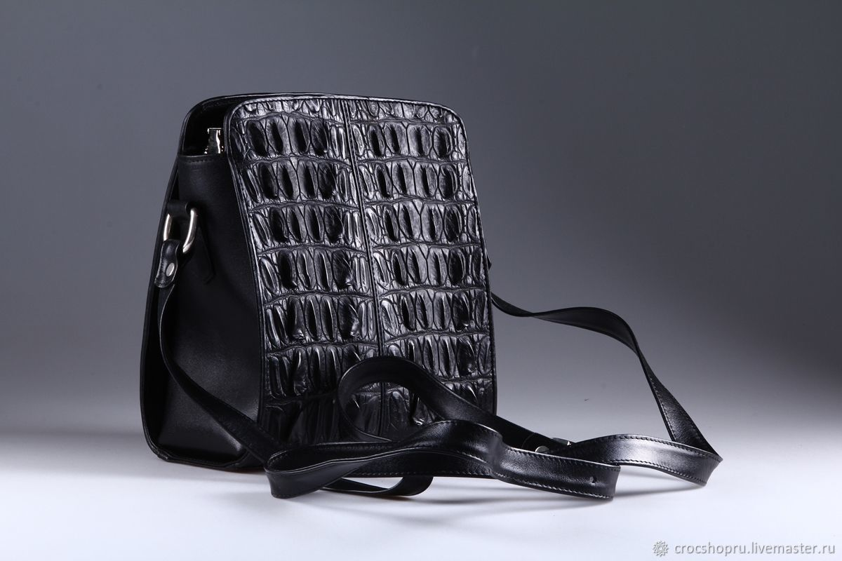 Bag shoulder crocodile leather IMA0758B22, Crossbody bag, Moscow,  Фото №1