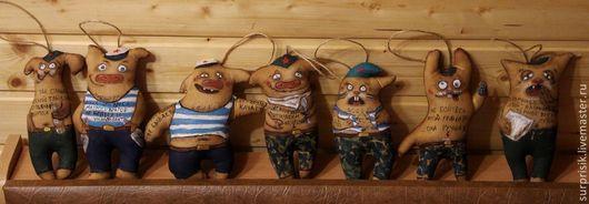 Ароматизированные куклы ручной работы. Ярмарка Мастеров - ручная работа. Купить Кофейные позитивчики. Handmade. Коричневый, 23 февраля подарок