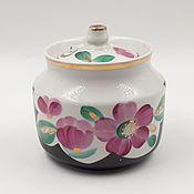 Винтаж handmade. Livemaster - original item Sugar bowl USSR Vintage Verbilki. Handmade.