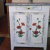 Для дома и интерьера handmade. Livemaster - original item table Poppies decoupage. Handmade.