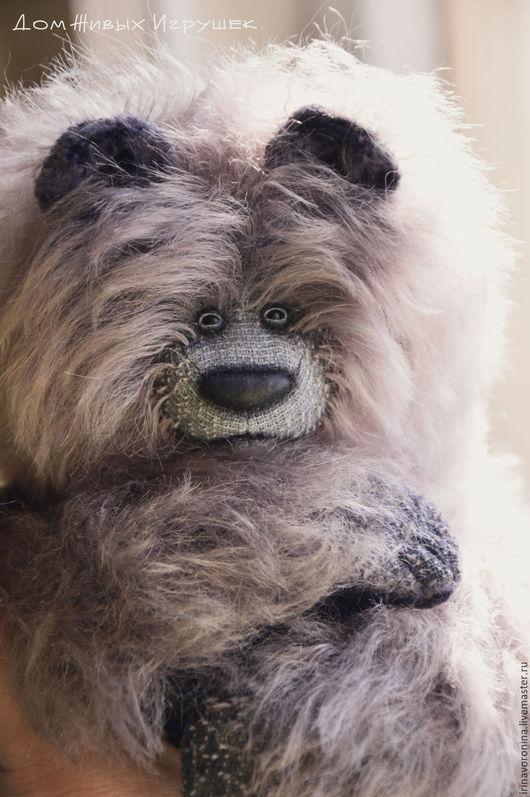 Мишки Тедди ручной работы. Ярмарка Мастеров - ручная работа. Купить Серый День...коллекционный медведь тедди. Handmade. Серый
