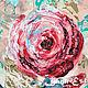 """Картины цветов ручной работы. Ярмарка Мастеров - ручная работа. Купить Панно интерьерное """"Сердце розы"""". Handmade. Панно"""