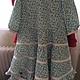 Одежда для девочек, ручной работы. Ярмарка Мастеров - ручная работа. Купить Платье из марлевки. Handmade. Платье летнее