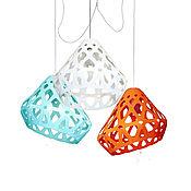 Для дома и интерьера handmade. Livemaster - original item ZAHA trehrozhkovye tricolor LIGHT chandelier 31. Handmade.