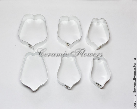 The cutters the petals of a Tulip, size L, Cutters, Rostov-on-Don,  Фото №1