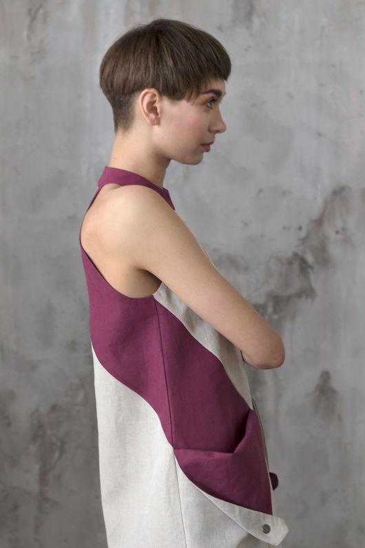 """Платья ручной работы. Ярмарка Мастеров - ручная работа. Купить Платье с карманами в стиле """"color blocking"""" / Летнее платье. Handmade."""