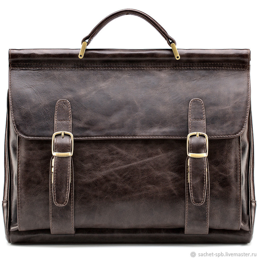 248dc6b43fb8 Мужские сумки ручной работы. Ярмарка Мастеров - ручная работа. Купить  Кожаный портфель