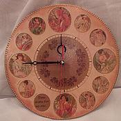 Для дома и интерьера ручной работы. Ярмарка Мастеров - ручная работа Часы Времена Года. Handmade.