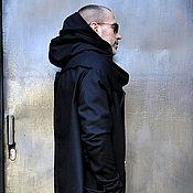 Одежда ручной работы. Ярмарка Мастеров - ручная работа Кашемировое мужское пальто Assymetric. Handmade.