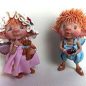 Куклы и игрушки ручной работы. Ярмарка Мастеров - ручная работа Тереза и Фредо. Handmade.