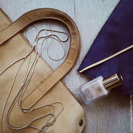 Женские сумки ручной работы. Ярмарка Мастеров - ручная работа. Купить Volume Bag. Handmade. Бежевый, пошив на заказ
