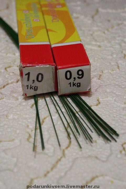 Другие виды рукоделия ручной работы. Ярмарка Мастеров - ручная работа. Купить Проволока флористическая. Handmade. Проволока, друт, болотный