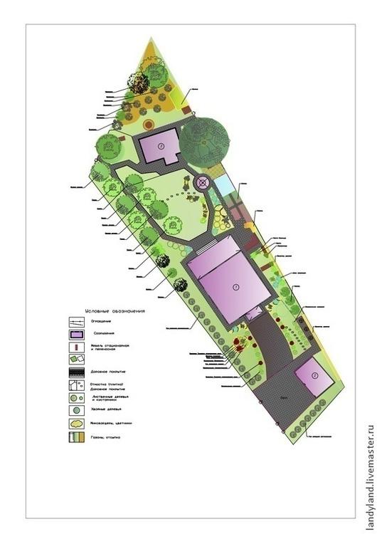 Дендрологический план участка