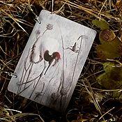Блокноты ручной работы. Ярмарка Мастеров - ручная работа Блокнот ручной работы (цвет основы дуб). Handmade.