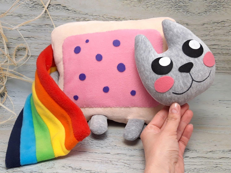 Nyan kat toy, Nyancat soft toy, Stuffed Toys, Moscow,  Фото №1
