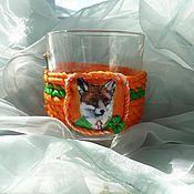 """Посуда ручной работы. Ярмарка Мастеров - ручная работа Чашка """"Ирландский Лис"""". Handmade."""