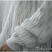 """Одежда ручной работы. Ярмарка Мастеров - ручная работа Свитер """" White"""". Handmade."""