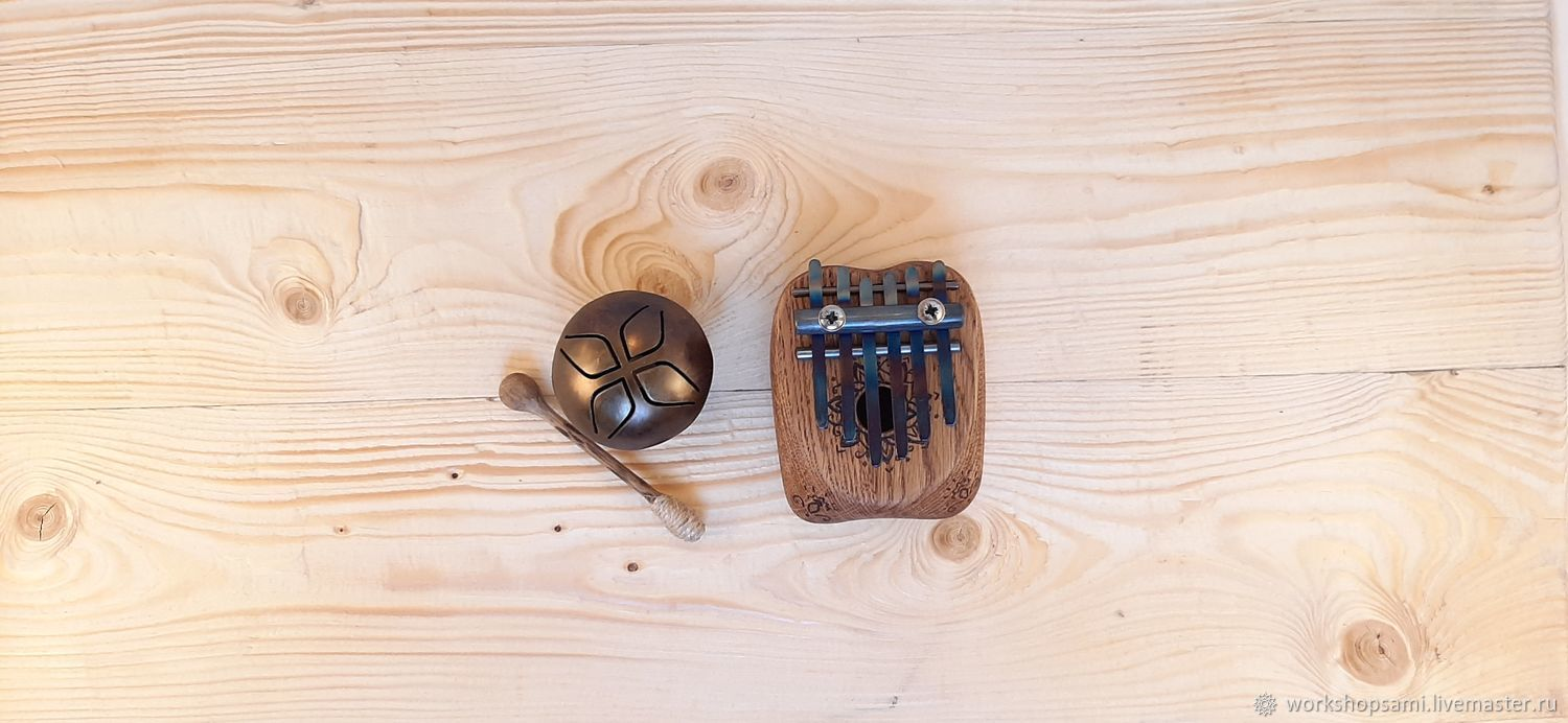 Glucoronic mascot and a little Kalimba, Tank drums, Moscow,  Фото №1