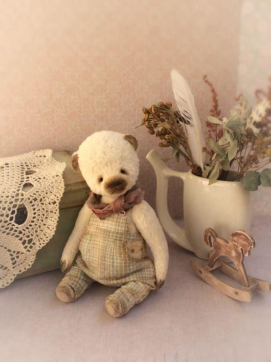 Мишки Тедди ручной работы. Ярмарка Мастеров - ручная работа. Купить Малыш Бо. Handmade. Тедди, мишка, медведь игрушка