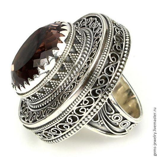 Кольца ручной работы. Ярмарка Мастеров - ручная работа. Купить Роскошное кольцо - натуральный аметрин - гигант. Handmade. Натуральный аметрин
